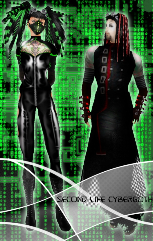 Second Life Cybergoths